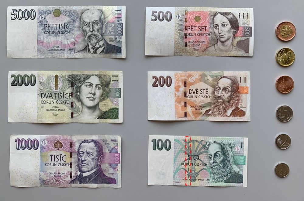 3000 tschechische kronen euro
