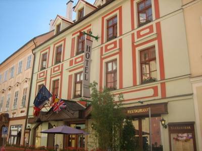 Hotel Barbarossa in Cheb