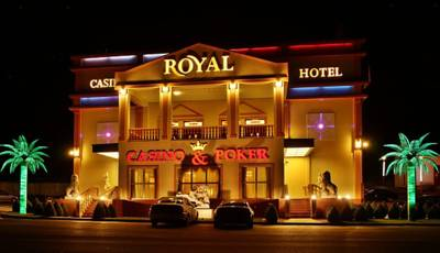 Hotel Casino Royal Admiral in Česká Kubice