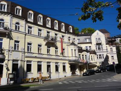 Hotel Continental in Marienbad