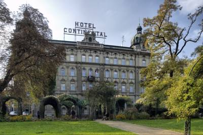 Hotel Continental in Pilsen