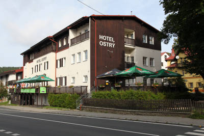 Hotel Ostry in Železná Ruda