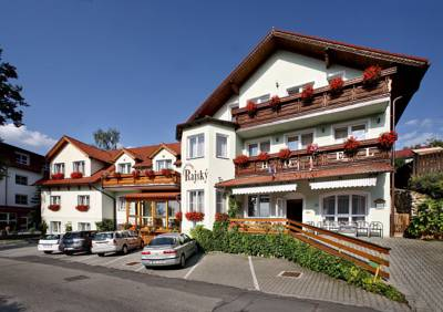 Hotel Pension Rajsky in Krummau