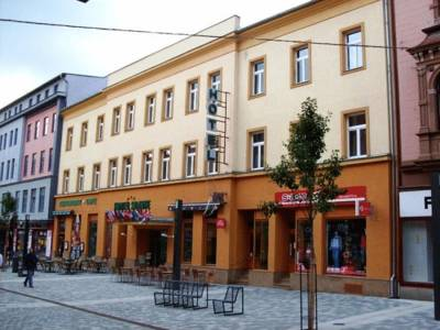 Hotel Slavie in Cheb
