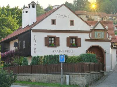 Pension Krasne Udoli in Krummau