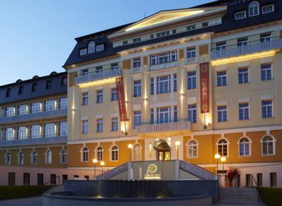 Spa & Kur Hotel Harvey in Franzensbad