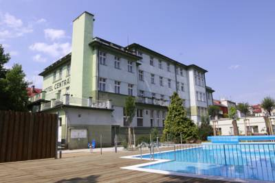 Wellness Hotel Central in Klatovy