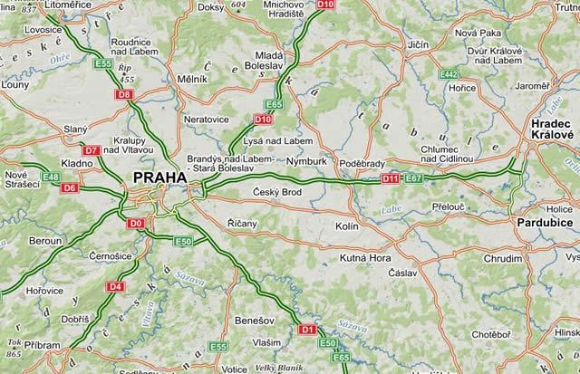 Landkarten Tschechien Autokarten Radfahrkarten Historische