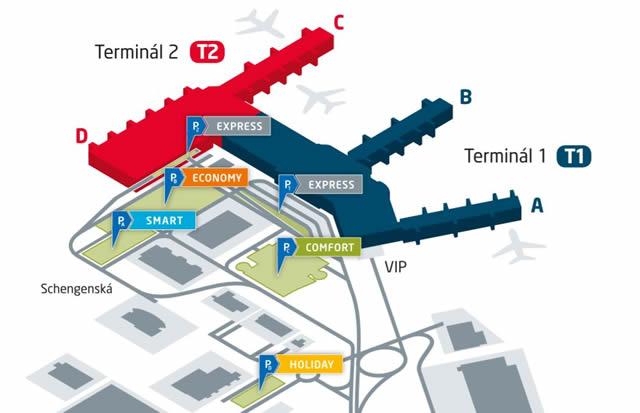 Metro Prag Karte.Parken Parkhäuser Parkplätze Prag Bewachte Parkplätze