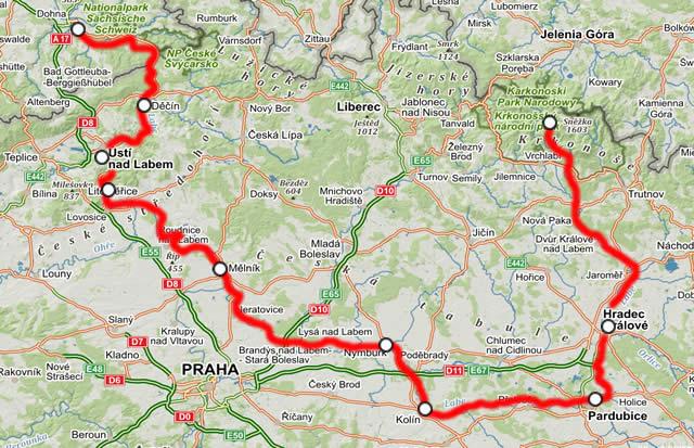 Radtour 2 Elbe Radweg Von Spindlermuhle Nach Decin
