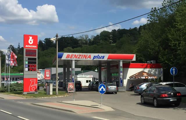 Tankstelle Tschechien