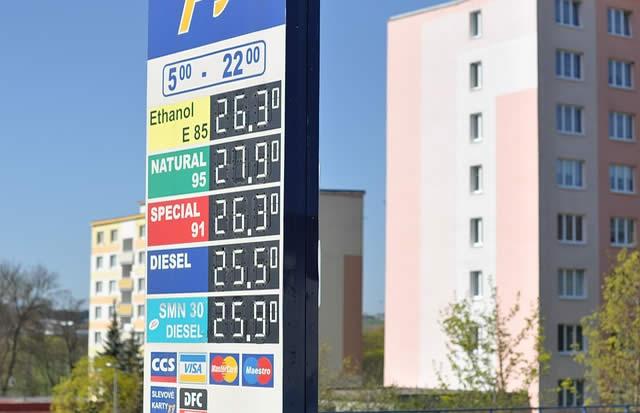 Tanken In Tschechien An Der Grenze