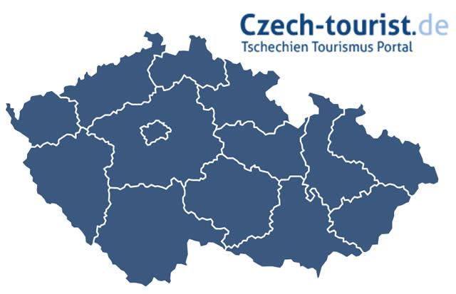Karte Tschechien.Alle Regionen Der Tschechischen Republik Die Regionen Auf Einen Blick